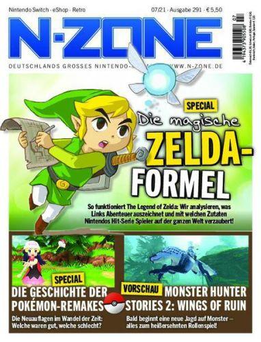Cover: N-Zone Retro-Magazin No 07 2021