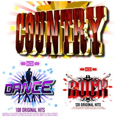 VA.Original Hits Collection (Rock - Dance - Country) (2009)@320 Naamloosxwkgw