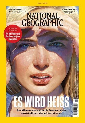 Cover: National Geographic Magazin No 07 Juli 2021