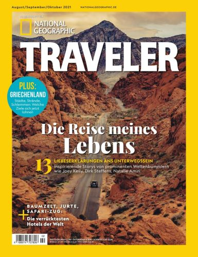 Cover: National Geographic Traveler Magazin No 02 August-Oktober 2021