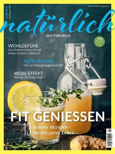 Cover: Natürlich gut für mich Magazin No 04 Juli-August 2021