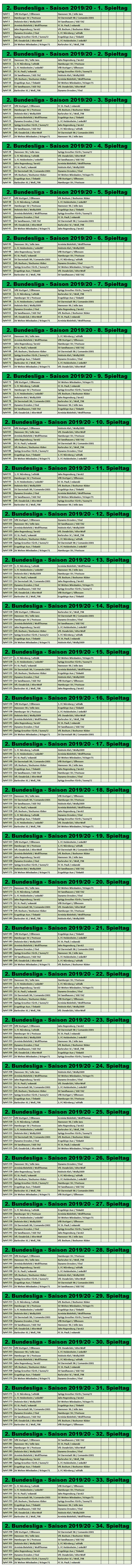 J4f 2 Liga Interactive Deutschland 2 Bundesliga 19 20 Stammtisch