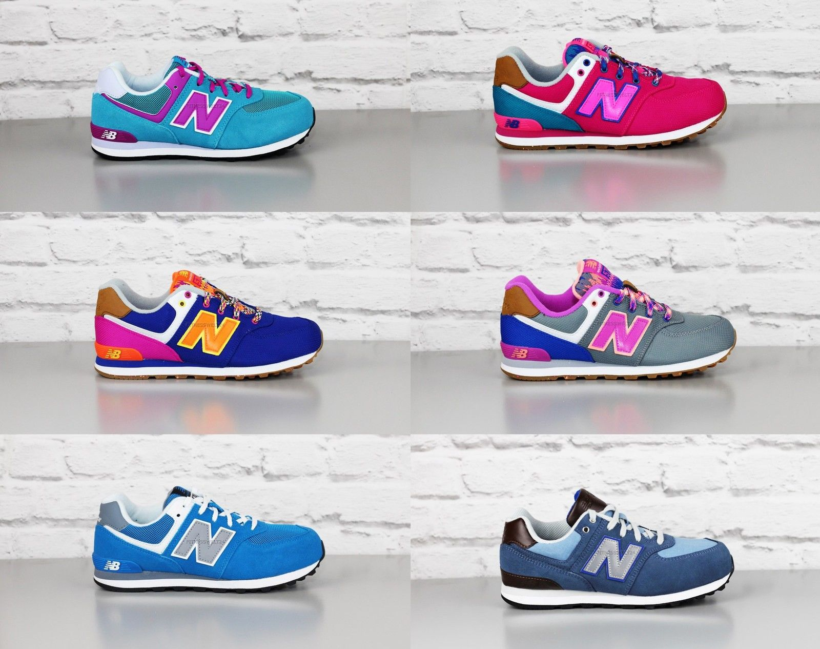new balance 574 damen bunt