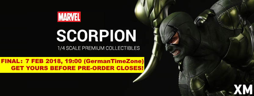 Premium Collectibles : Scorpion Newbannerfbuqy