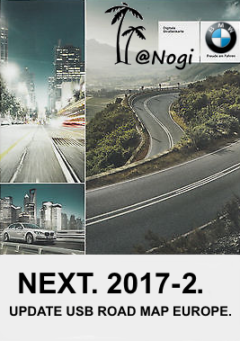 2017 2 Bmw Navigation Update Usb Road Map Europe Next 2017 2