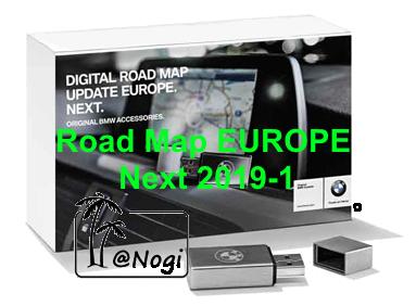 BMW Navigation Update USB Road Map Europe NEXT 2019-1