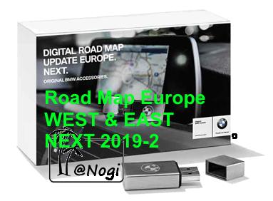 BMW Navigation Update USB Road Map Europe NEXT 2019-2