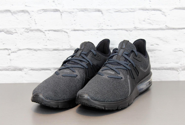 NIKE Air Max Sequent 3 Sneaker Turnschuhe Schwarz