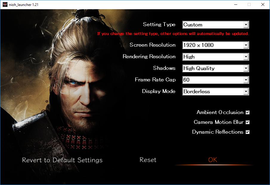 Nioh: Complete Edition PC performance thread   NeoGAF