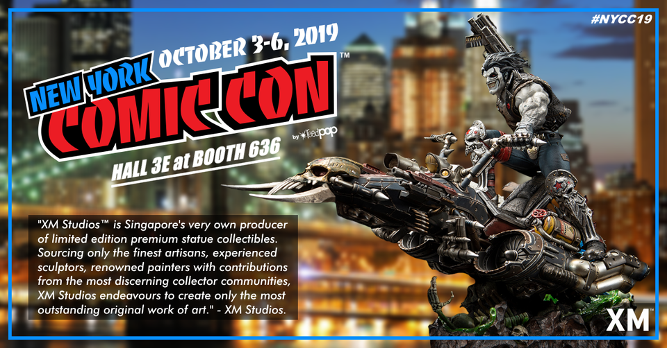 XM Studios: Coverage New York Comic Con 2019 - October 3rd to 6th  Nycc19event9kjrd