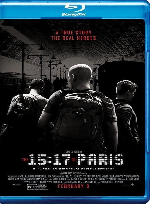 15:17 Paris Treni – The 15:17   2018   Türkçe Dublaj Dual (TR-EN)