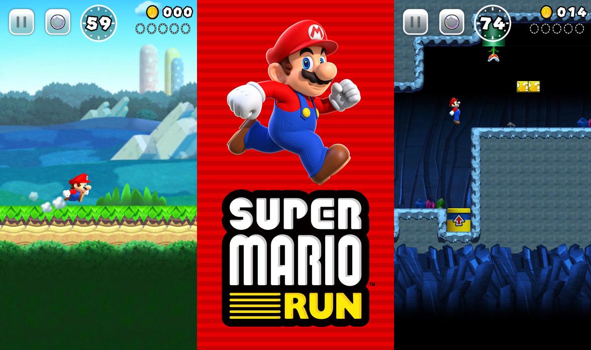 Hasil gambar untuk Super Mario Run