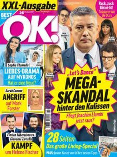 Cover: Ok! Das Exklusiv-Magazin der Stars No 26 vom 23  Juni 2021