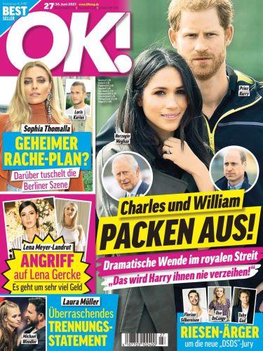 Cover: Ok! Das Exklusiv-Magazin der Stars No 27 vom 30  Juni 2021