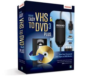 download Roxio Easy Vhs to Dvd 3 Plus v3.0.1.28