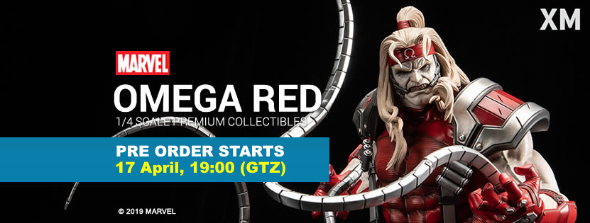 Premium Collectibles : Omega Red - Comics version** Omegaredpobannerrdk5s