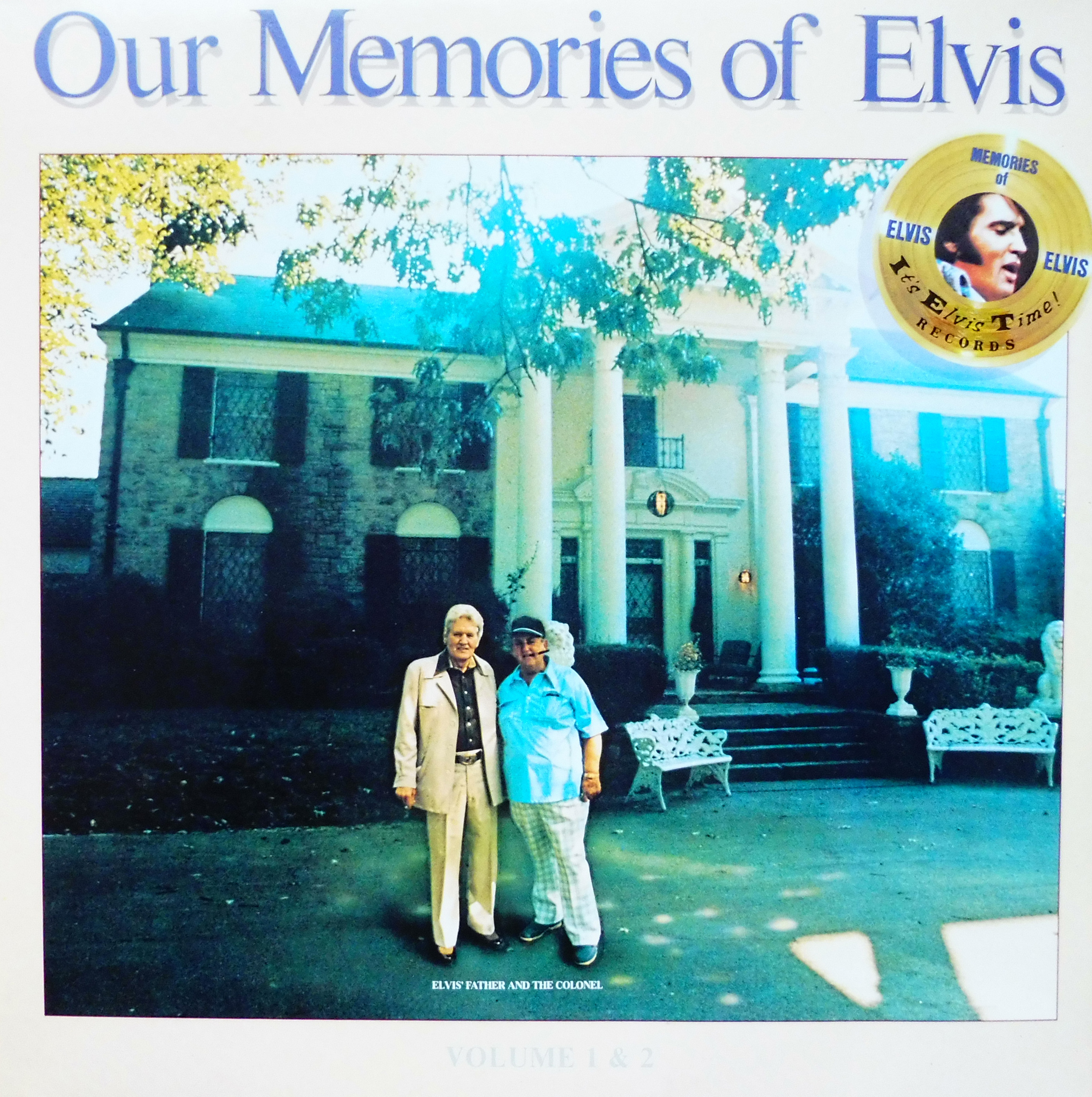 OUR MEMORIES OF ELVIS - Volume 1 & 2 Omoevol1und2nlfrontsxjcj