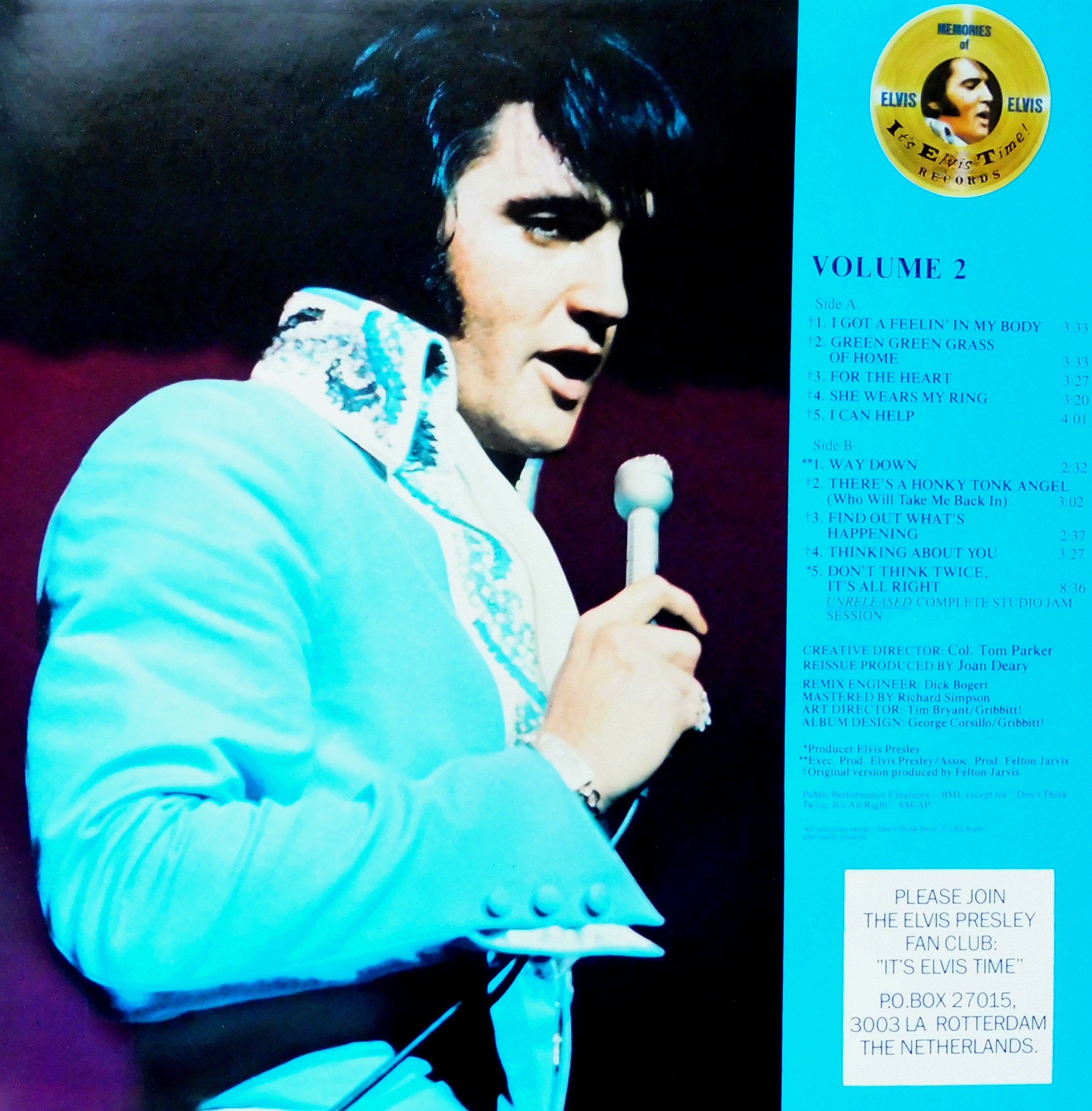 OUR MEMORIES OF ELVIS - Volume 1 & 2 Omoevol1und2nlinnenre1vjin