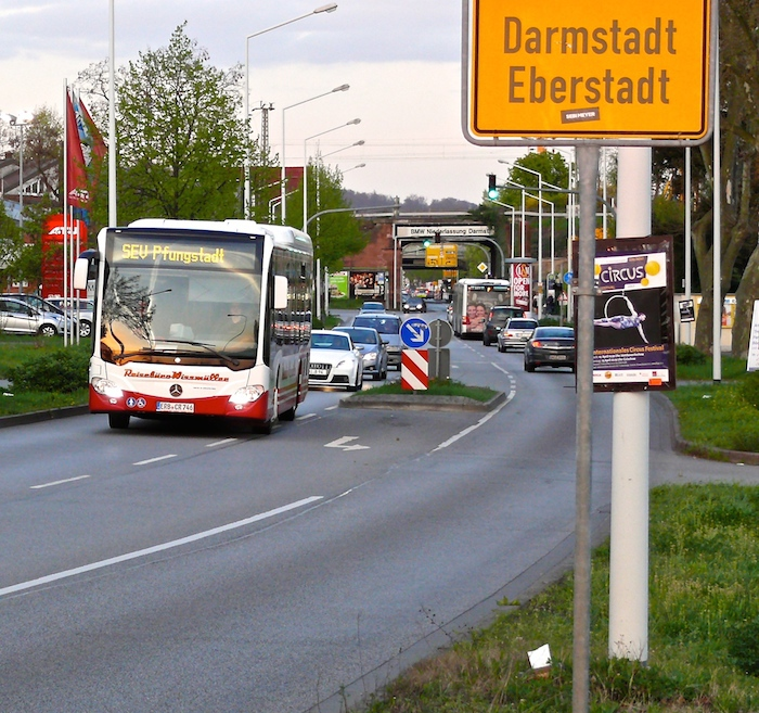 Sichtung Sev Darmstadt Eberstadt Pfungstadt