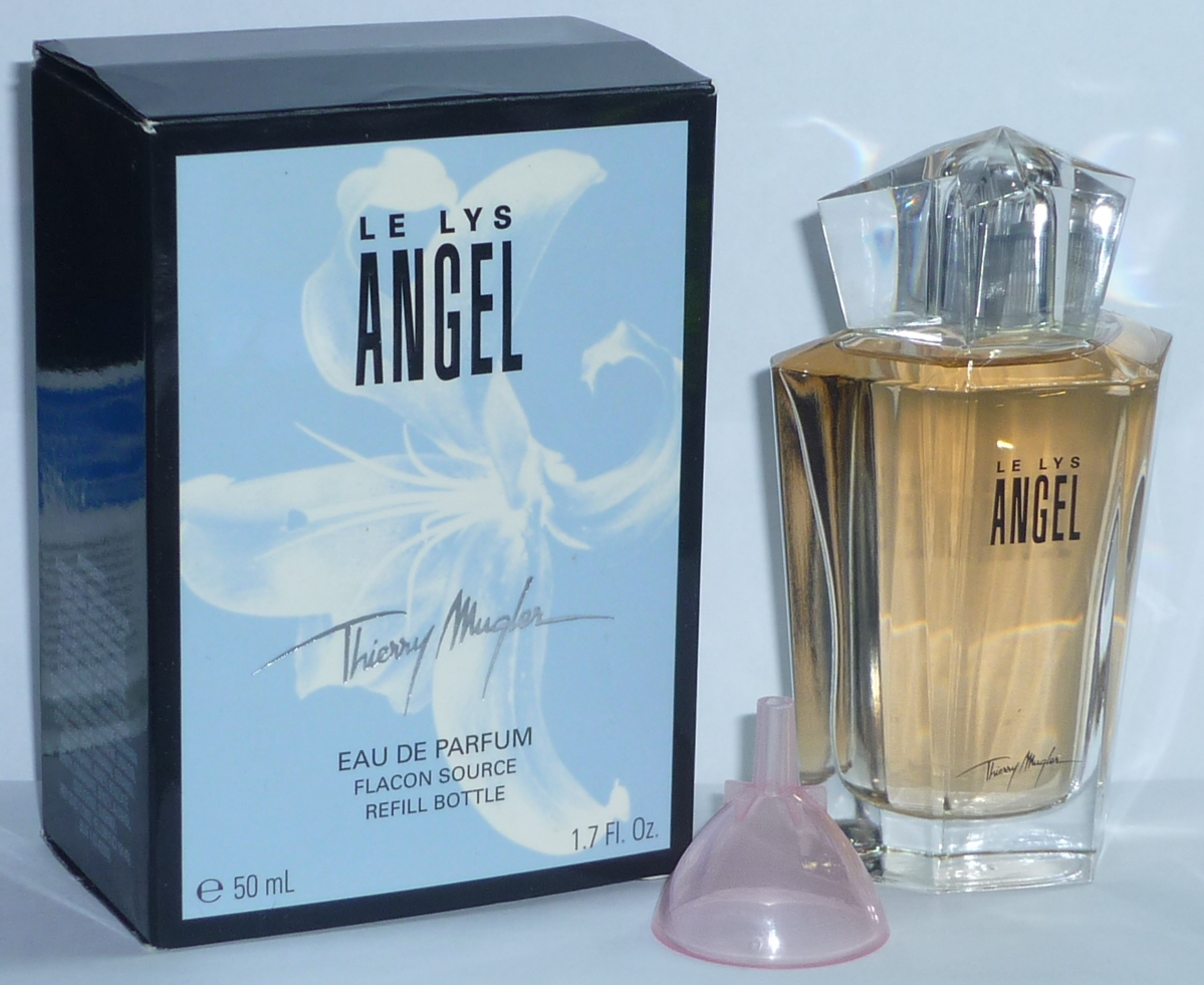 thierry mugler le lys angel 50 ml eau de parfum refill ebay. Black Bedroom Furniture Sets. Home Design Ideas