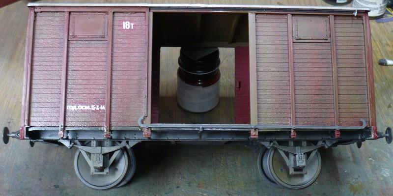 gedeckter Güterwaggon 18t in 1:35 P10807872x1kyi