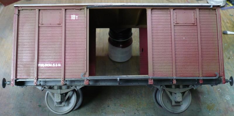 gedeckter Güterwaggon 18t in 1:35 P10807882gtjyh