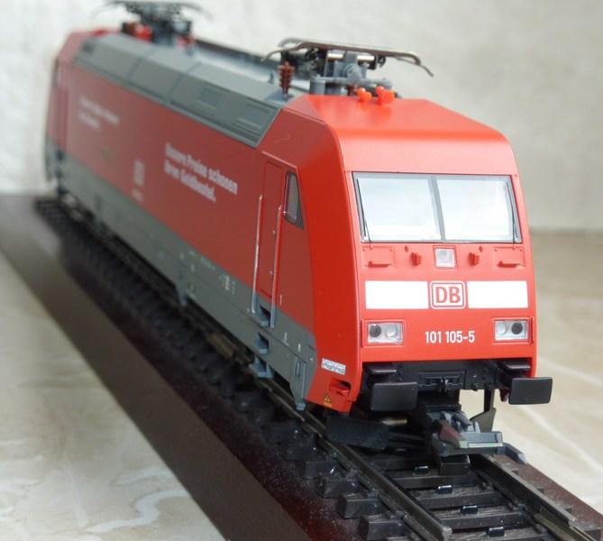 Piko 59100 - 101 105-5 mit Umrüstung auf AC P11603420zujr