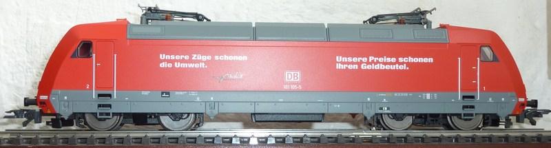 Piko 59100 - 101 105-5 mit Umrüstung auf AC P116034341ufs