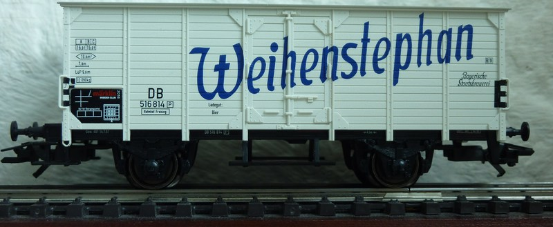 """Märklin 48166 - Insiderwagen 2016 ,,Weihenstephan"""" P116053687sub"""