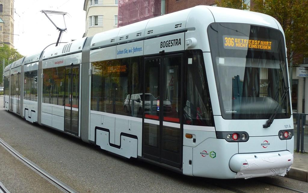 Eine frisch ausgepackte Stadler Variobahn P11607708nudq