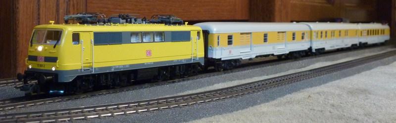 Roco 58590 111 059-2 in gelber Lackierung von DB Netz  P118088661kwl