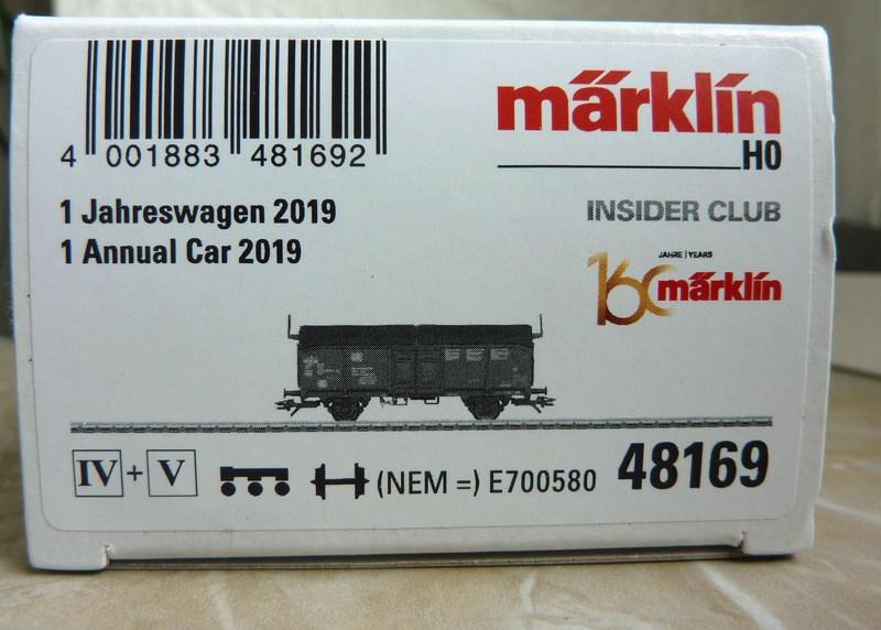 Märklin 48169 Insider-Jahreswagen 2019  P1210157e5jjt
