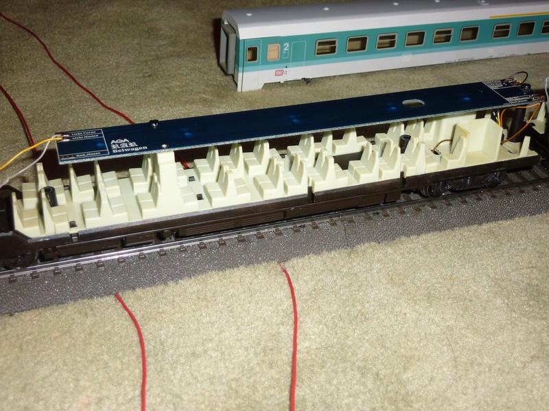 Märklin 3476 BR 610 Pendolino mit Umrüstplatinen auf HLA und mfx Decoder umgerüstet P1230786dwk81