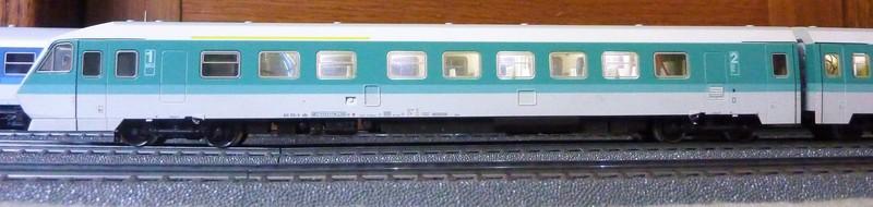 Märklin 3476 BR 610 Pendolino mit Umrüstplatinen auf HLA und mfx Decoder umgerüstet P1230797g1knx