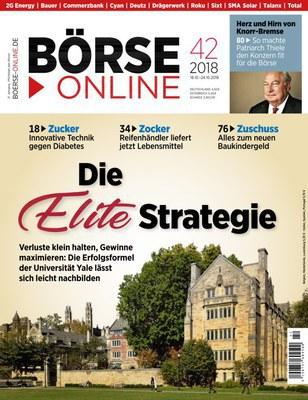 Börse Online Magazin No 42 vom 18 Oktober 2018