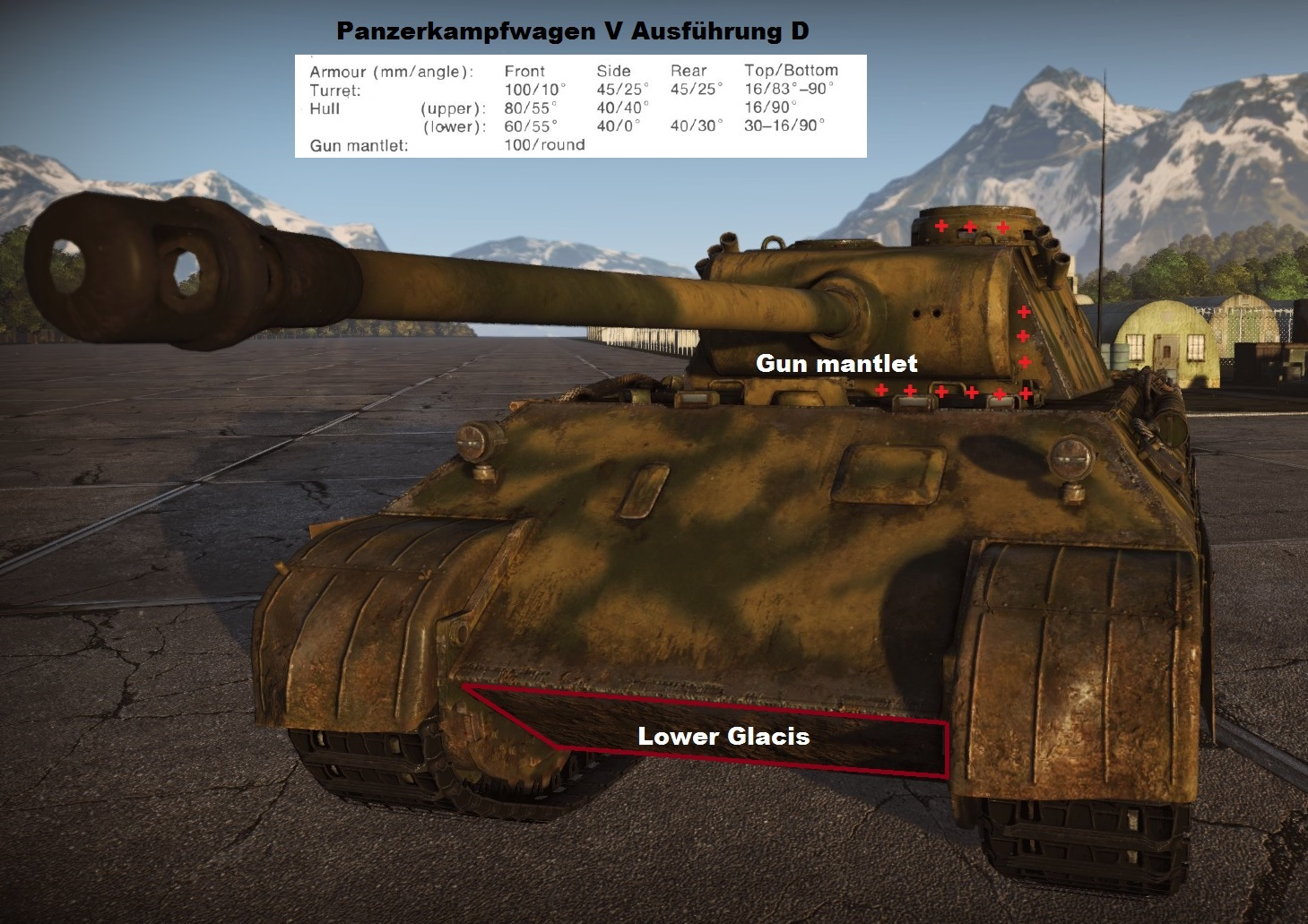T-34-85 vs Panther