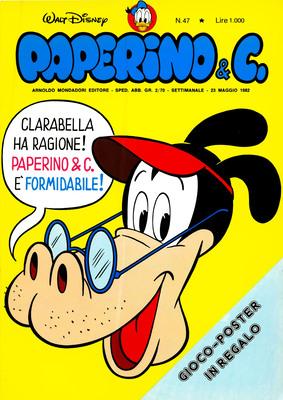 Walt Disney - Paperino & C. N. 47 (1982)