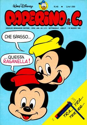 Walt Disney - Paperino & C. N. 48 (1982)