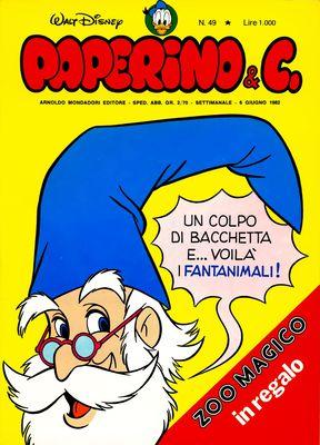 Walt Disney - Paperino & C. N. 49 (1982)
