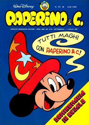 Walt Disney - Paperino & C. N. 53 (1982)