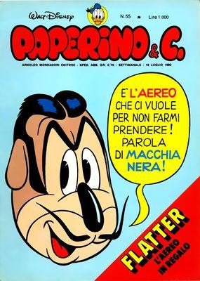 Walt Disney - Paperino & C. N. 55 (1982)