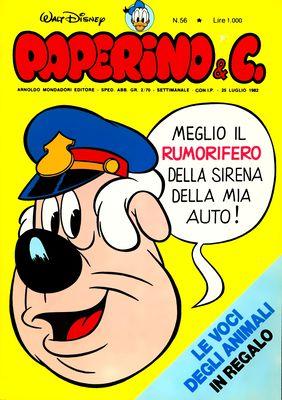 Walt Disney - Paperino & C. N. 56 (1982)