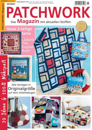 Cover: Patchwork Magazin No 05 2021