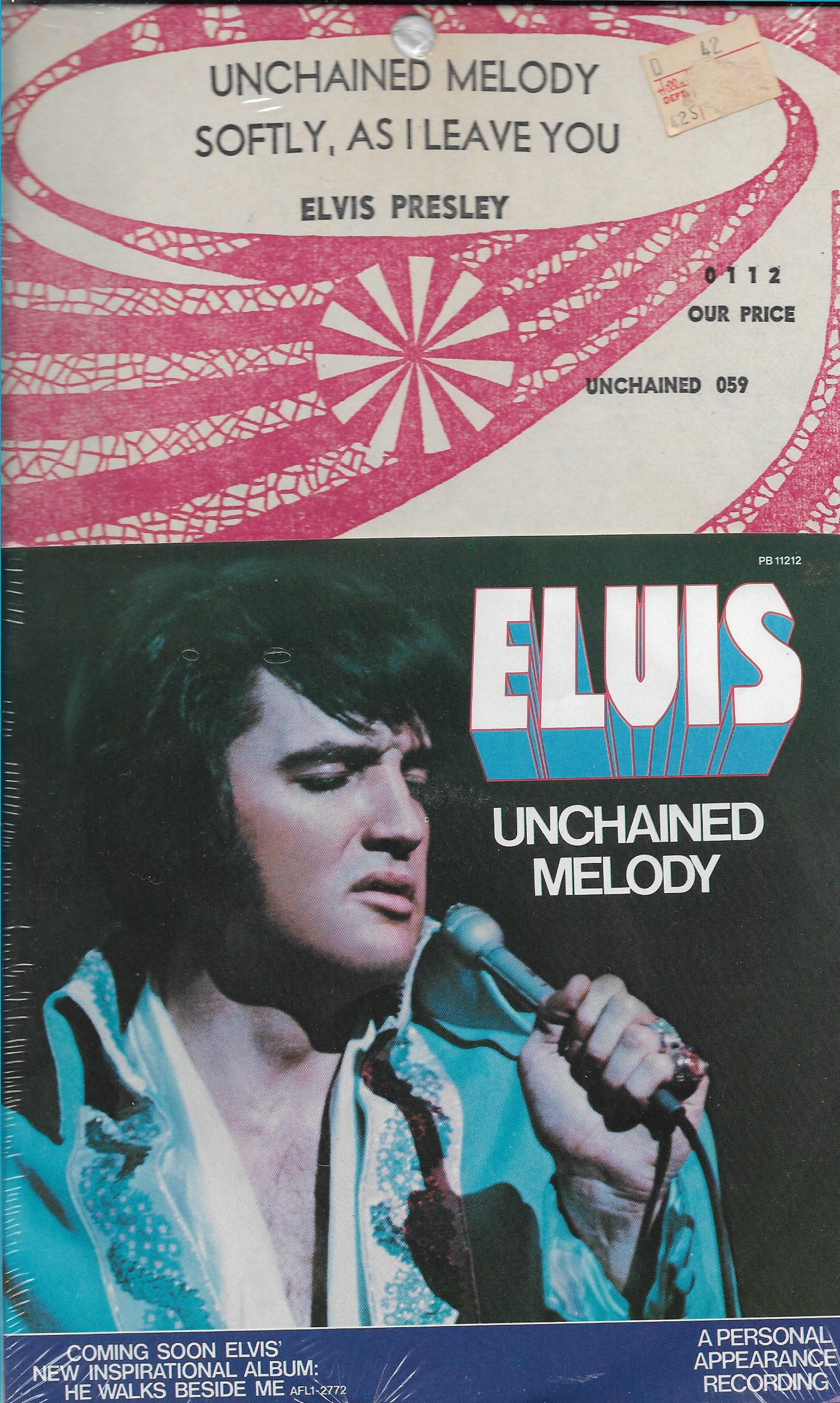 Unchained Melody / Softly, As I Leave You Pb-11212-78-elgk2x