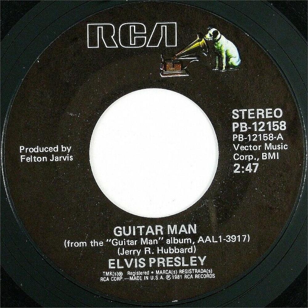 Guitar Man / Faded Love Pb12158-1981-c4mkdc