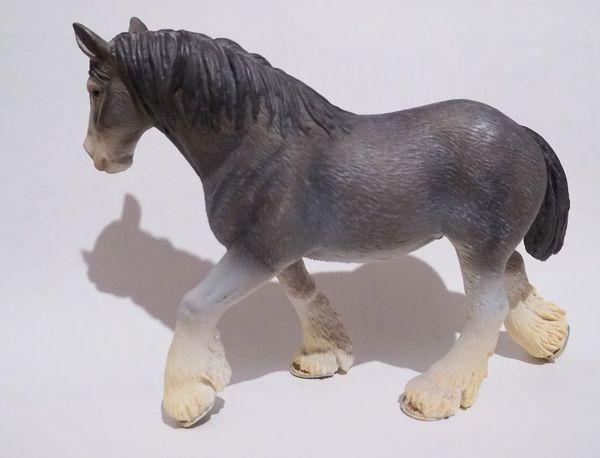 Schleich Pferd schwarz Made in Portugal 2006