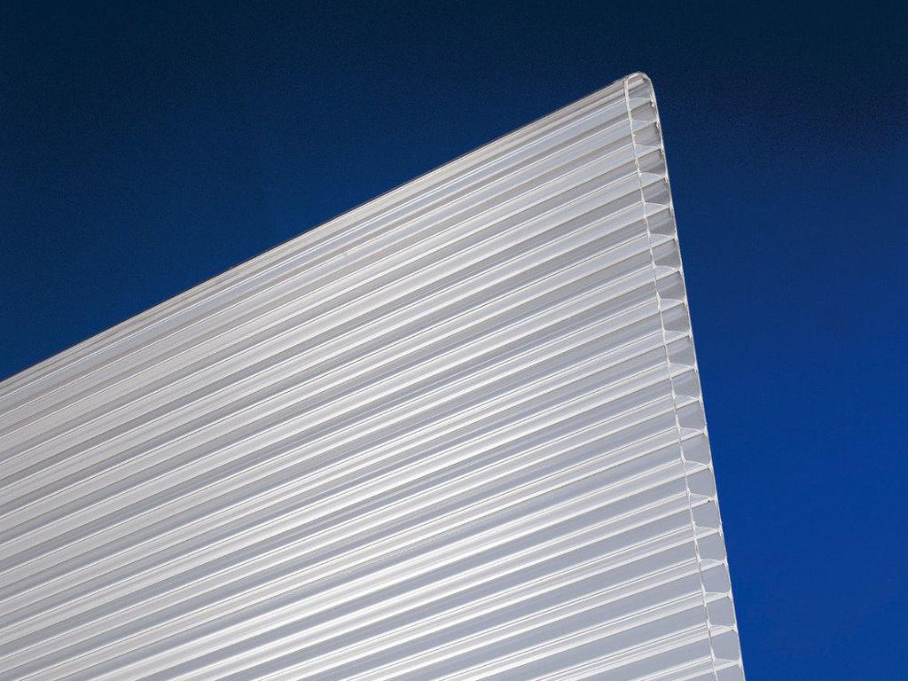 PCX klar Stegplatten// Hohlkammerplatte 16 mm 2100 mm breit 18,50 Euro//m²