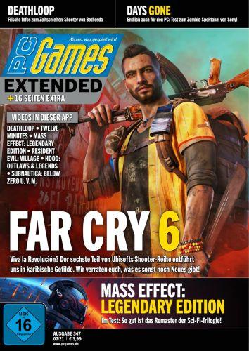 Cover: Pc Games Magazin No 07 2021