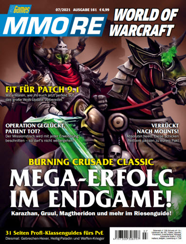 Cover: Pc Games Mmore Magazin No 07 2021