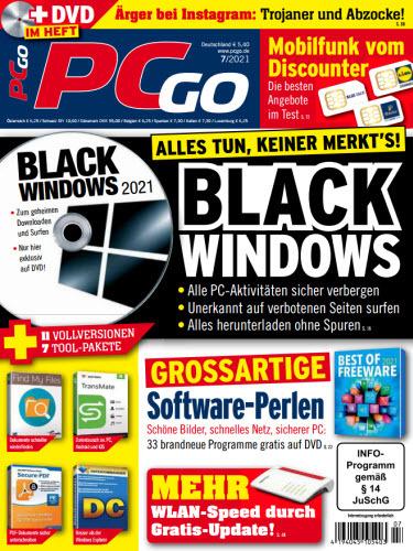 Cover: Pcgo Magazin No 07 2021